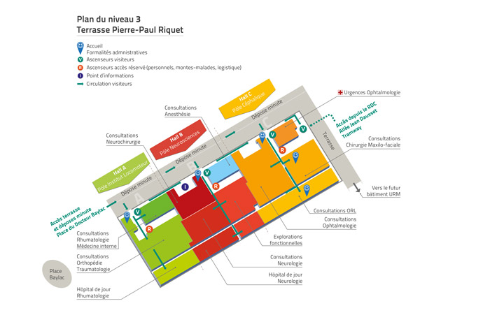 Plans de batîment et Wayfinding