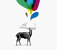 Affiche Cerf